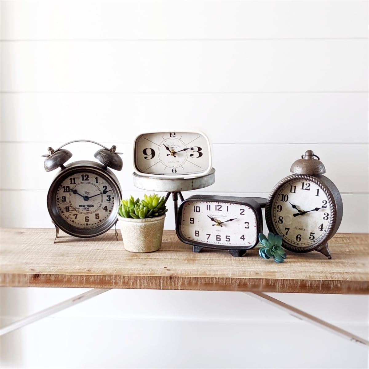 Tabletop Clock Collection | Free Shipping