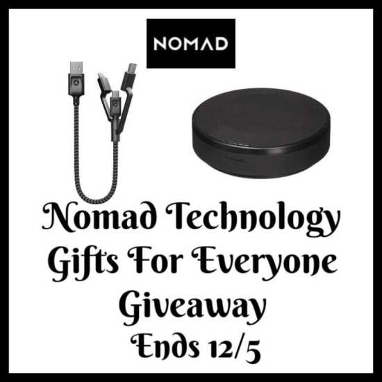🎄 Enter and you could #WIN Nomad technology gifts for the techies on your gift list when this #SMGN Holiday Gift 🎁 Guide #Giveaway ends 12/5. @SMGurusNetwork @las930 @nomadgoods