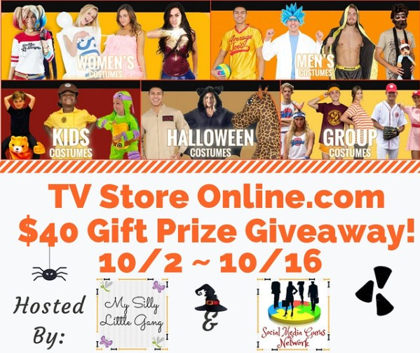 One Lucky Winner Will Win A $40 Gift Prize To Use at TV Store Online.com when this Fall Giveaway Ends 10/16. #SMGN #GiftGuide #Win #Winit #Winning #Sweeps #Sweepstake #Sweepstakes #Contest #ContestAlert #Competition #Giveaway #GiveawayAlert #Prize #Free #Gift