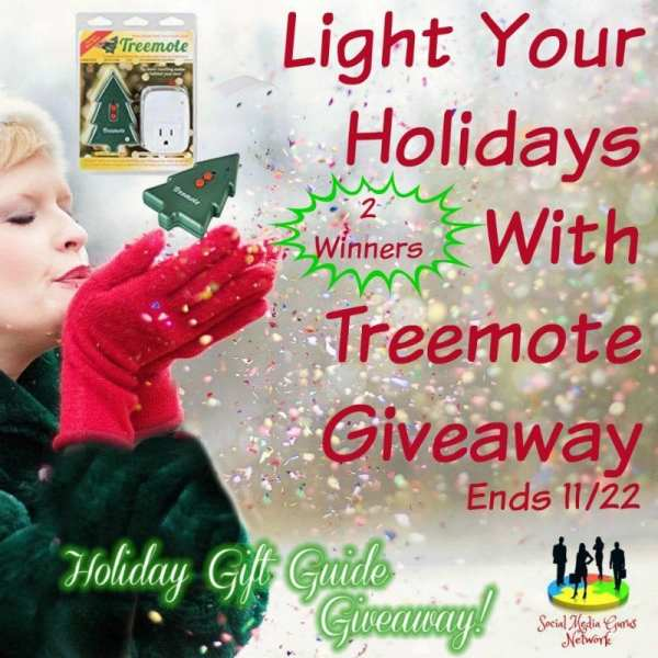 Holiday Gift Guide Light Your Holidays With Treemote Giveaway