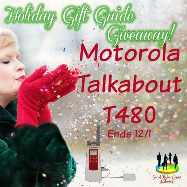 Holiday Gift Guide Motorola Talkabout T480 Giveaway