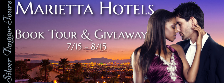 $25 Amazon Gift Card Giveaway & Marietta Hotels Book Tour Ends 8/15