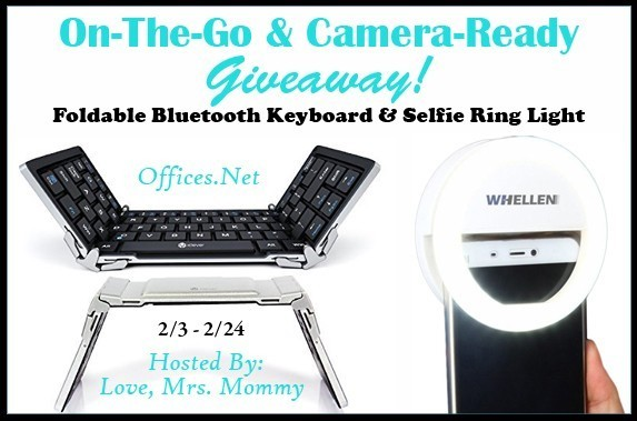 On-The-Go & Camera-Ready Tech Giveaway Ends 2/24