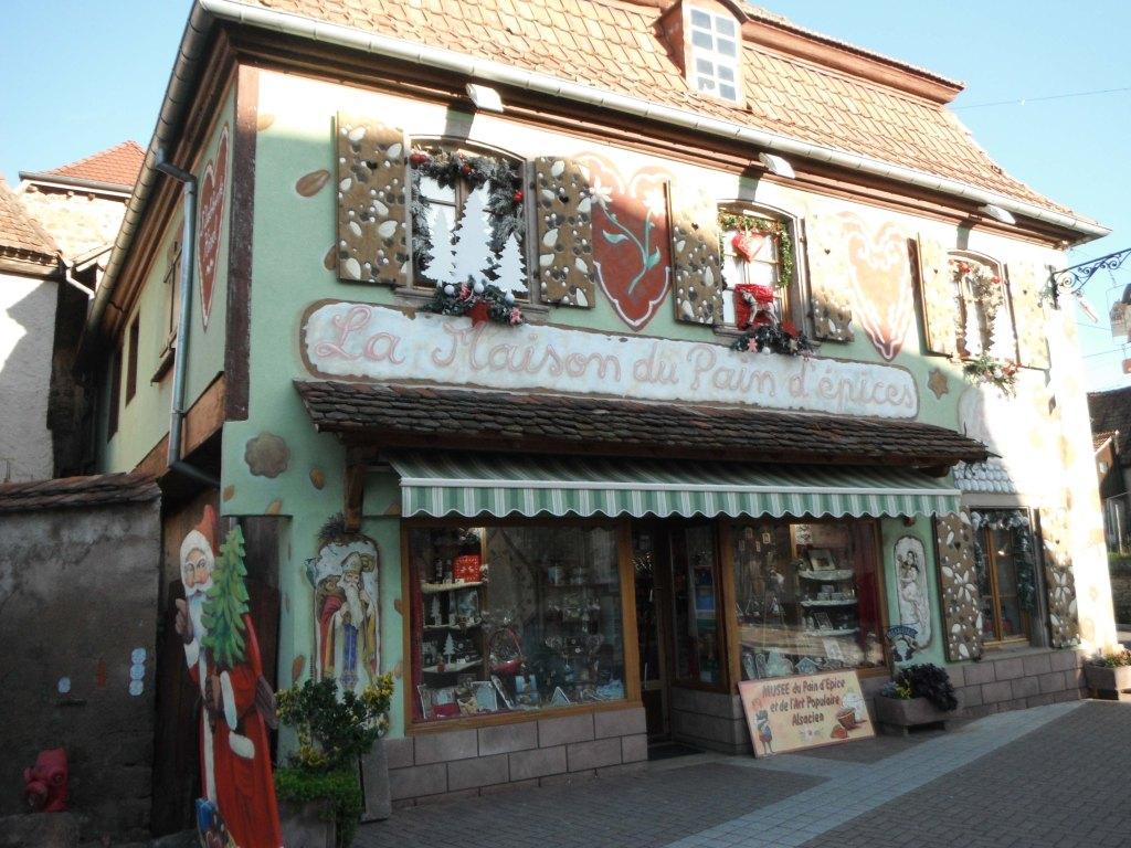 gertwiller お菓子の家