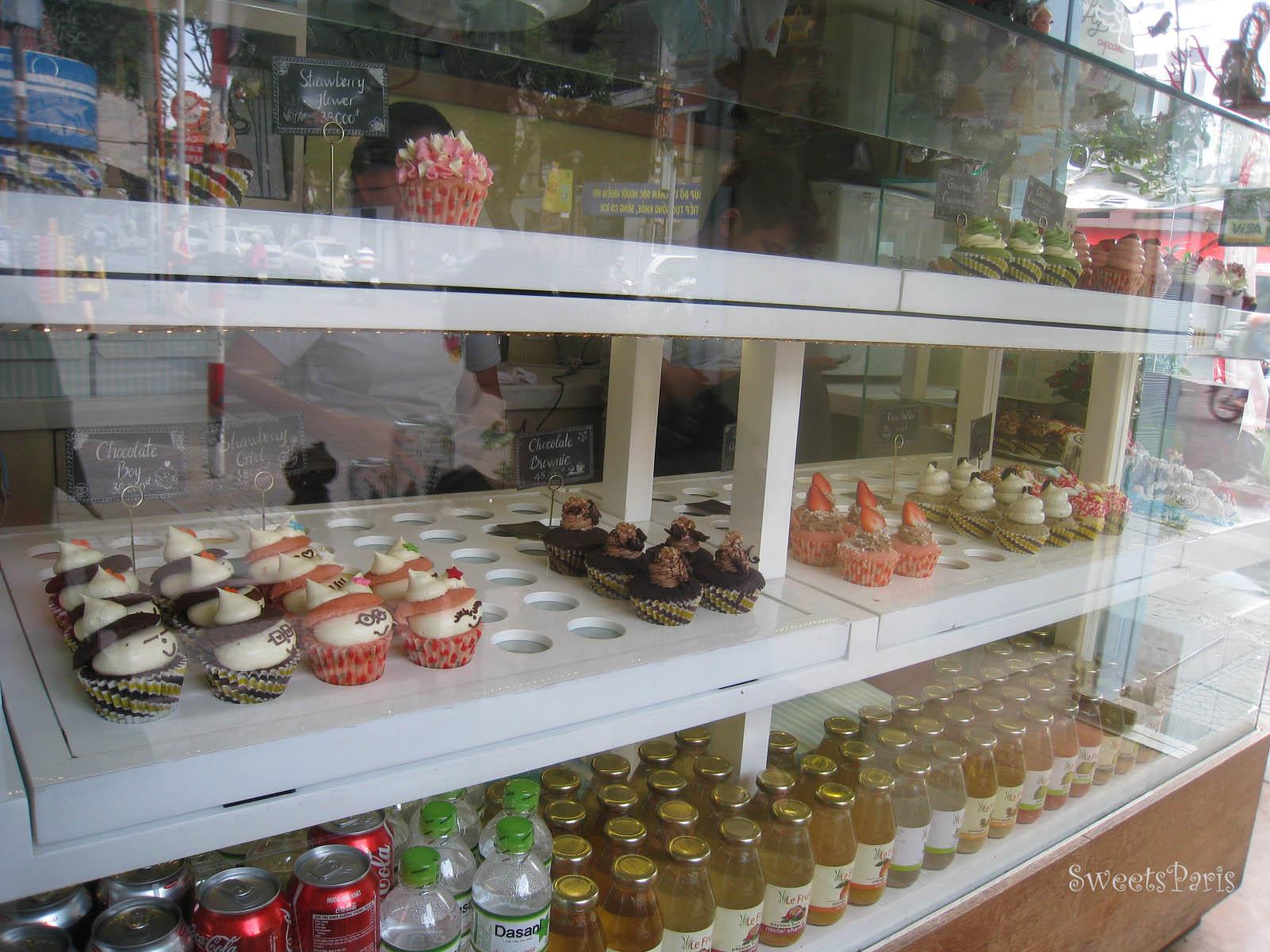 ホーチミンのカップケーキ屋さんfly cupcake
