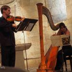 南フランスの小さな町の教会でクラシックコンサート