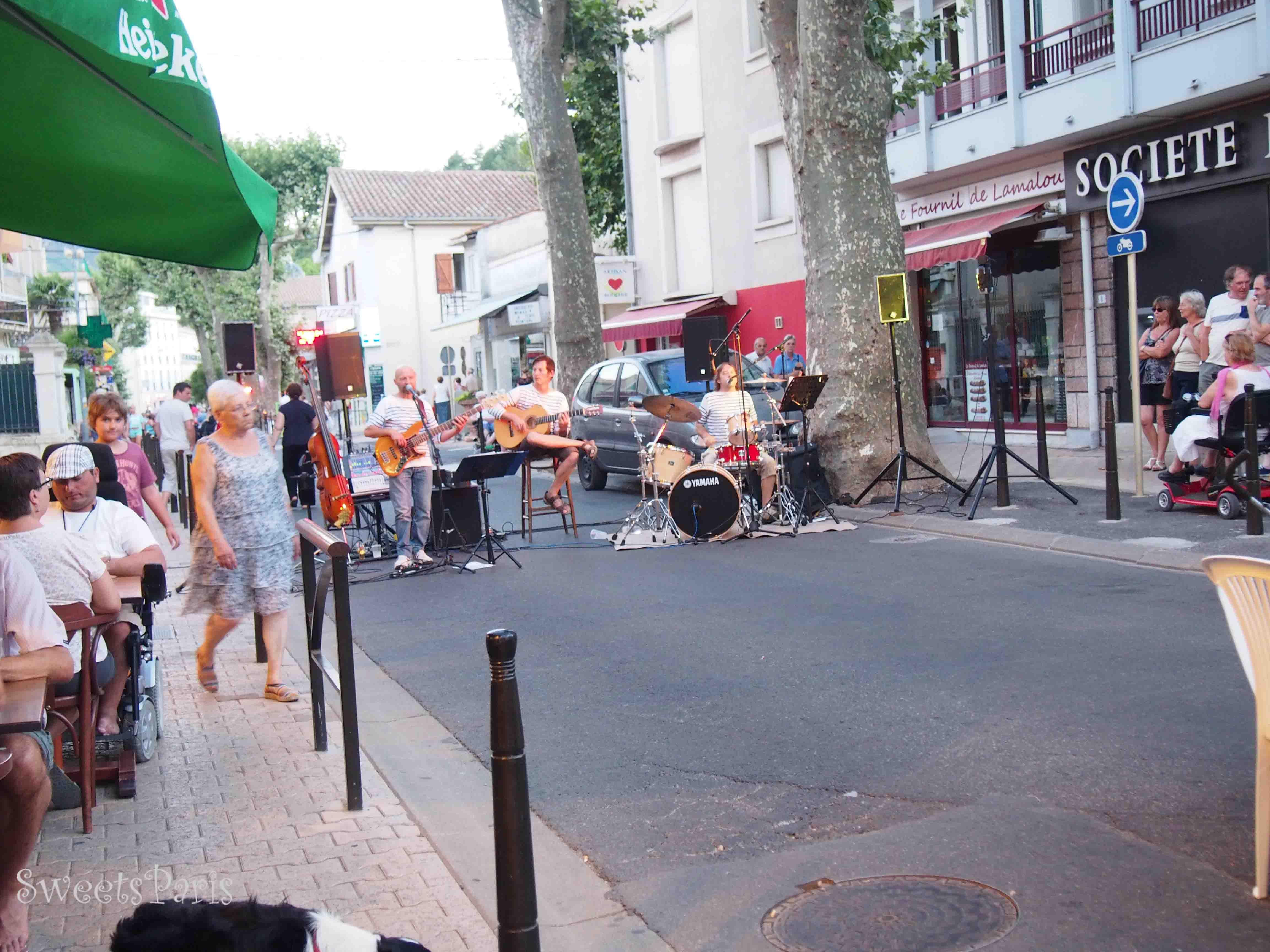 音楽*南フランスの小さな町を旅する Lamalou-les-bain