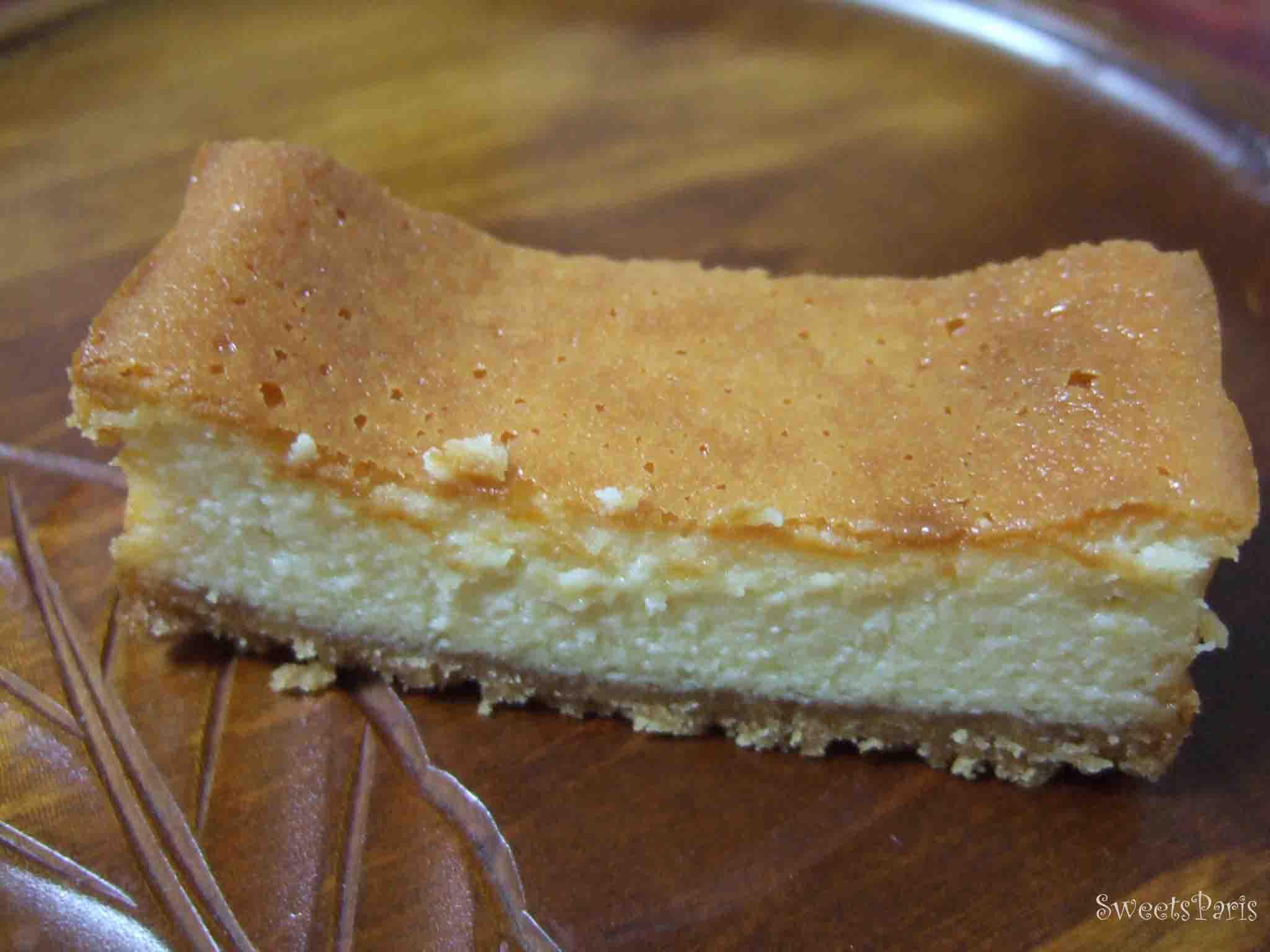 濃厚なガトーフロマージュの作りかた Recette gateau fromage