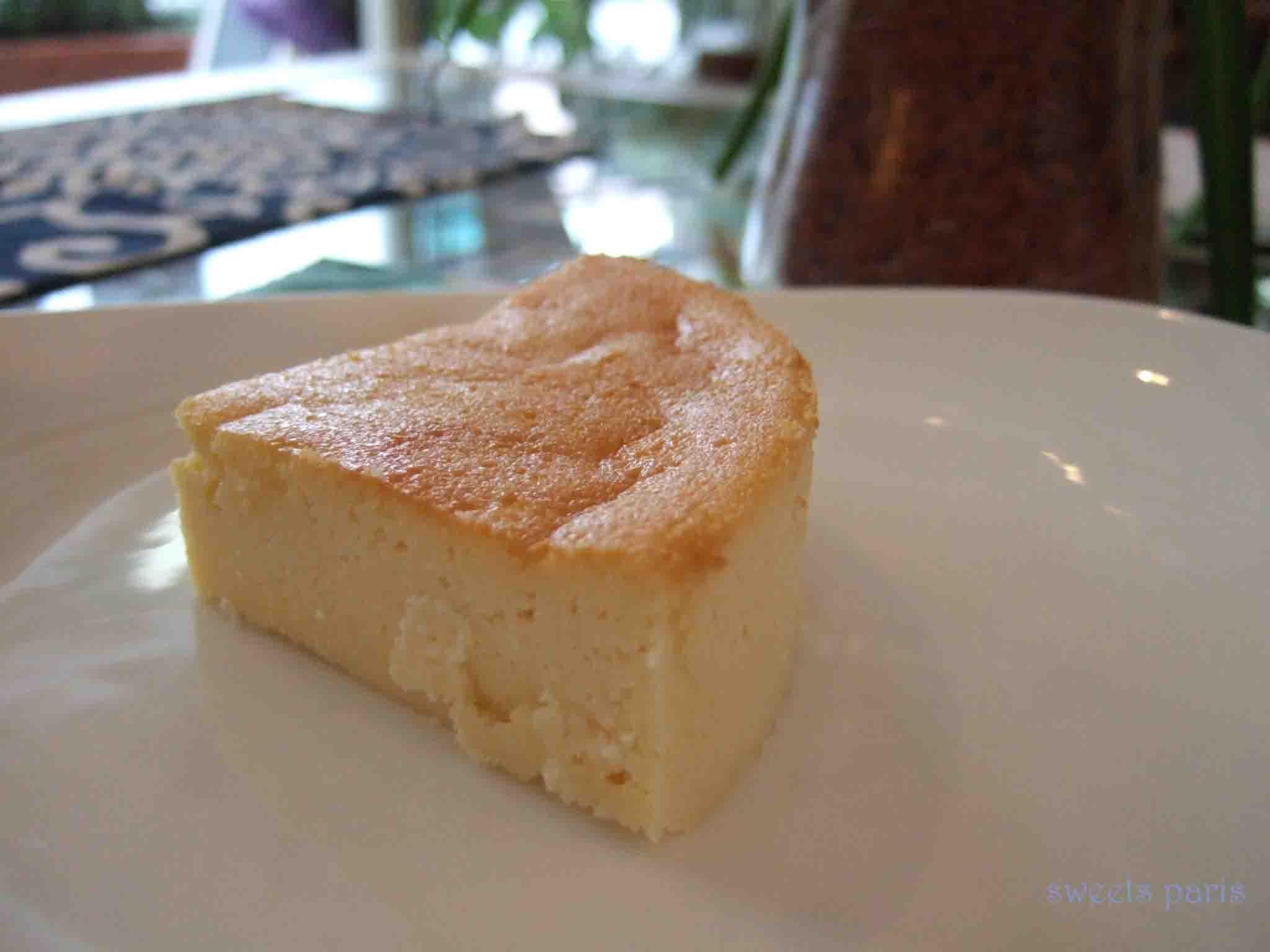 カロリー控えめガトーフロマージュの作りかた Recette gateau fromage