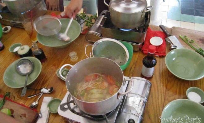 ベトナム・ホーチミンで料理教室
