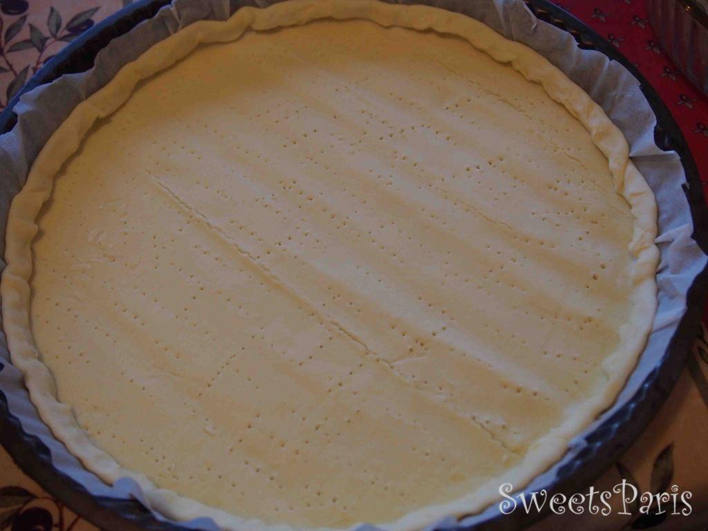 りんごタルトのレシピ recette tarte aux pommes