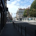 夏のバカンス中のフランスの街はどうなっているのか?@リヨン