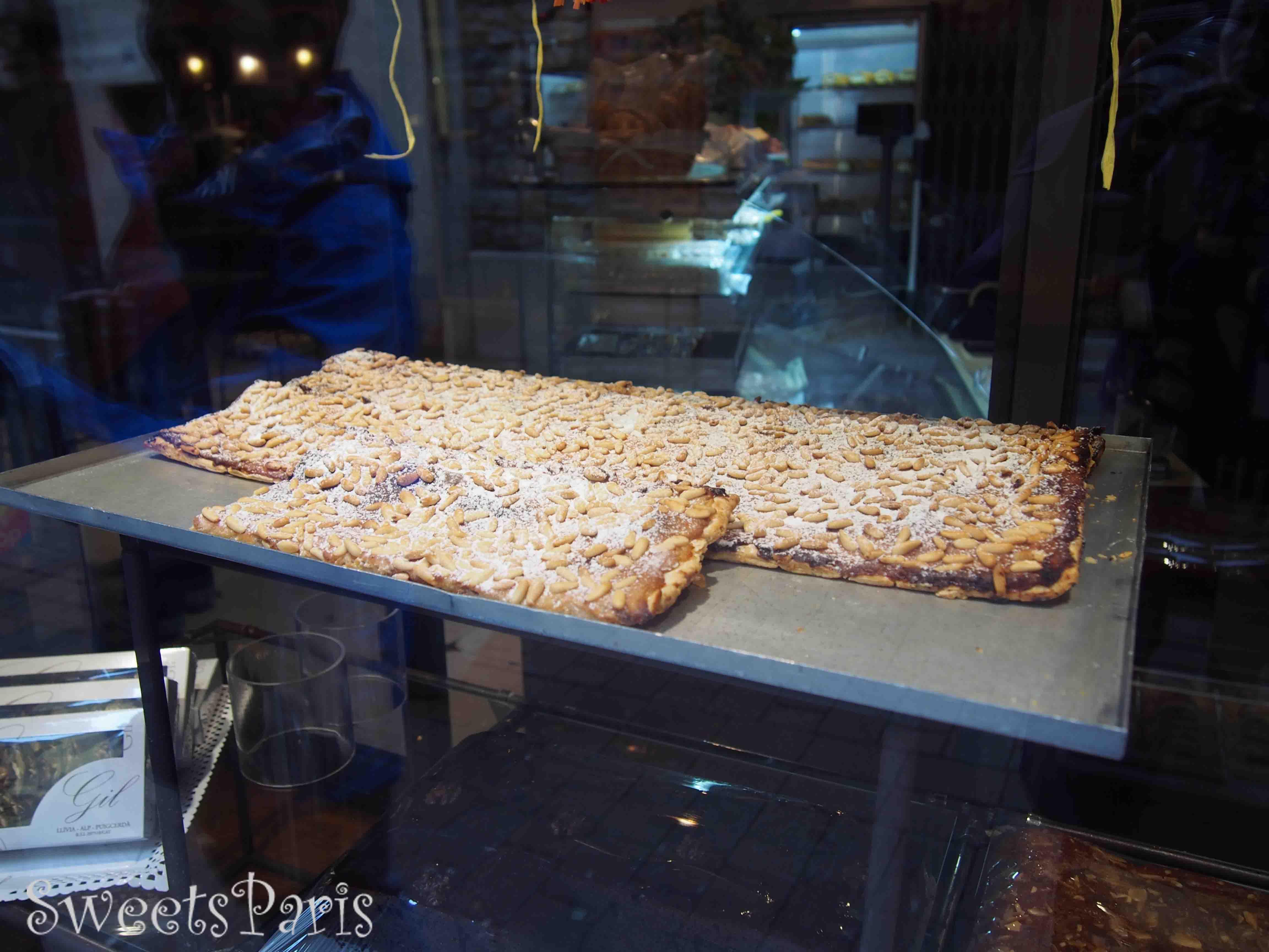 フランスの中にあるスペインの町のお菓子