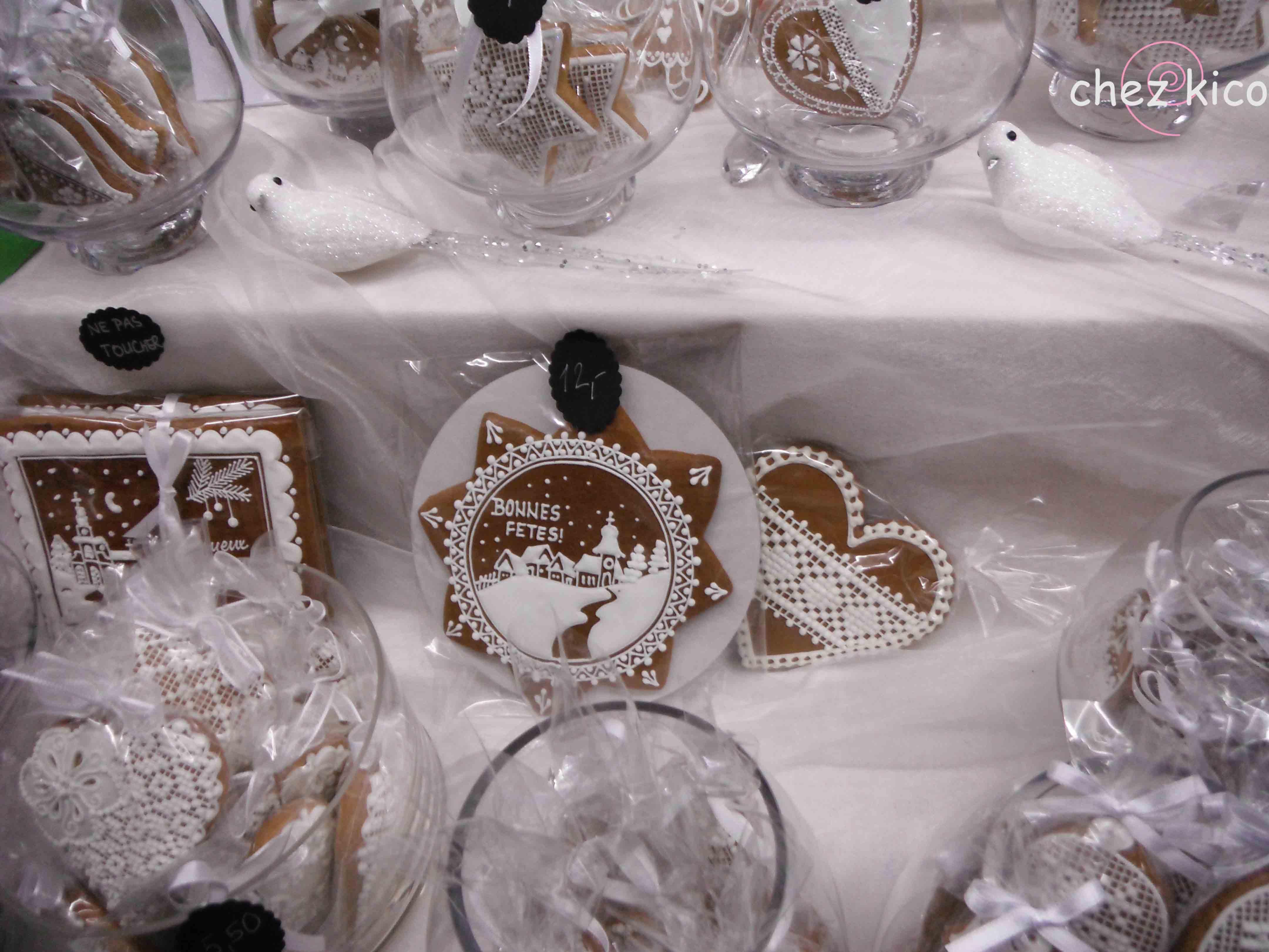 フランス・アルザス地方のクリスマスクッキー