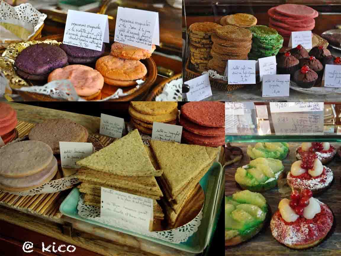 わざわざ行きたい。かわいい色のサブレのあるパリのお菓子屋さん