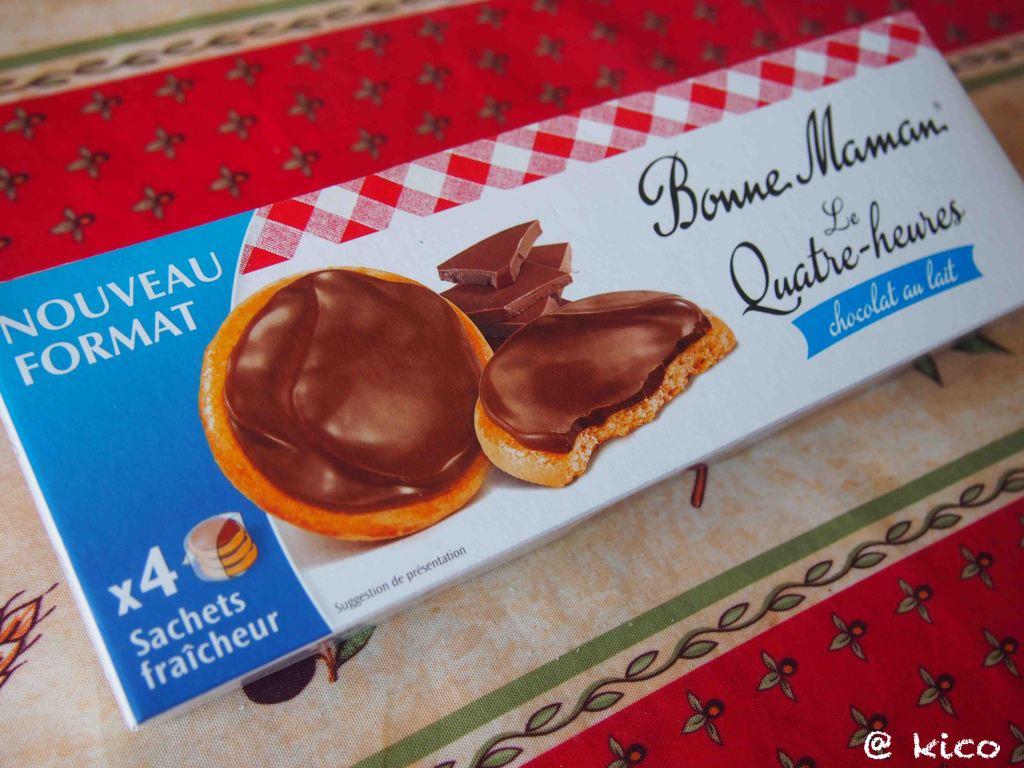 4時のおやつボンヌママンのチョコキャラメルサブレ*Bonne Maman
