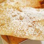リヨン中心のパン屋さんの素朴なビューニュ|リヨン地方菓子