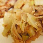フランスで和食を作る!フランス人にも大好評な白菜みそ炒めの作りかた