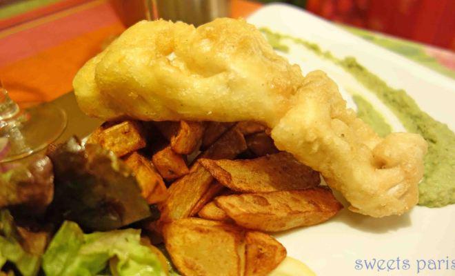 山にある世界一おいしいフィッシュ&チップスのあるレストラン My Little Terroir