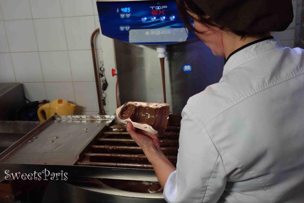ベルナションのチョコレート工場を見学