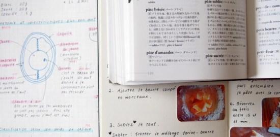 お菓子に関するフランス語の本