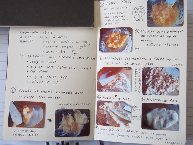 お菓子のフランス語の本