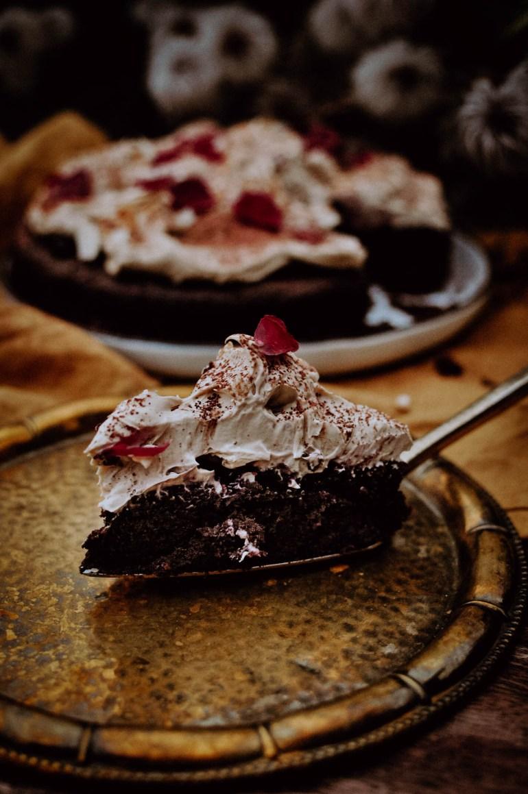 ciasto czekoladowe z kremem kawowym