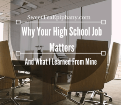 high school jobs