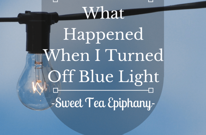 What Happened When I Turned Out Blue Light