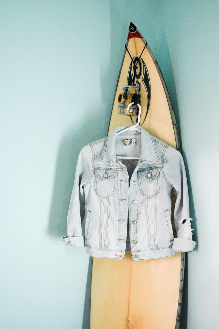 How to bleach a denim jacket | Sweet Teal