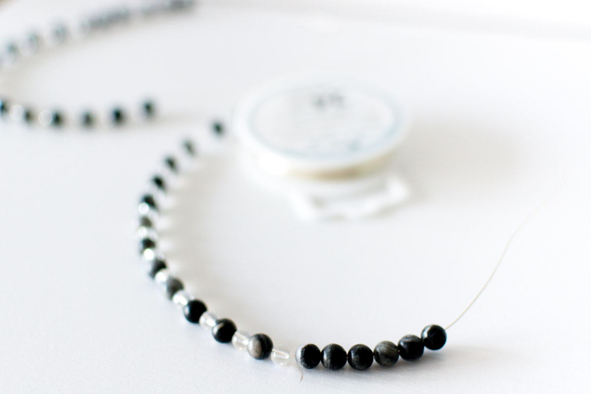 Tutorial for DIY Beaded Necklace by Jenny Bess of Sweet Teal