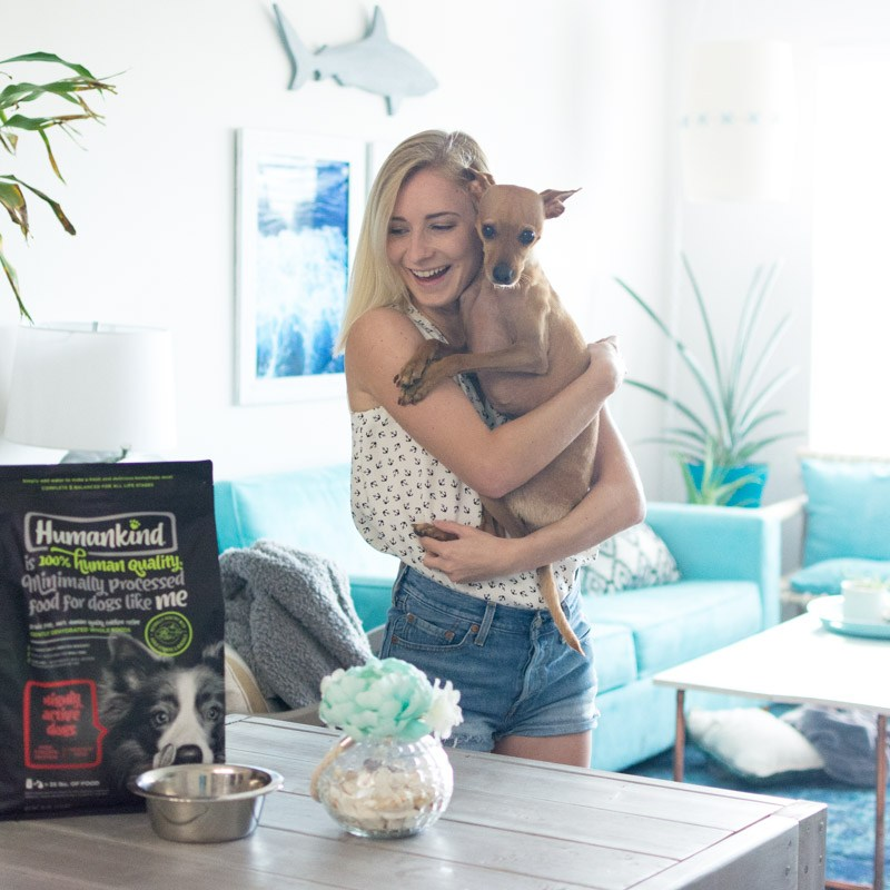 Humankind food for dogs - Sweet Teal