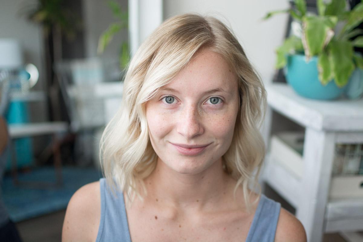 Neutrogena Back To School Makeup Tutorial - Before - Sweet Teal