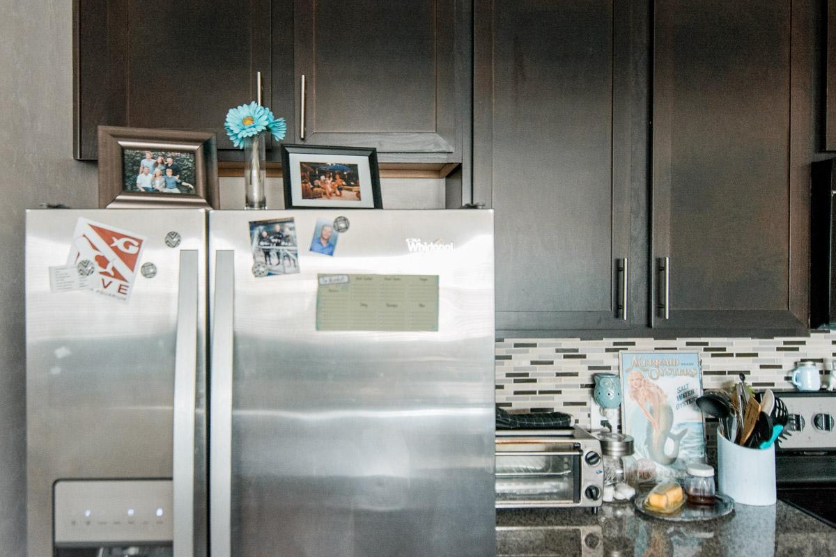 Fridge in Apartment Tour - Sweet Teal