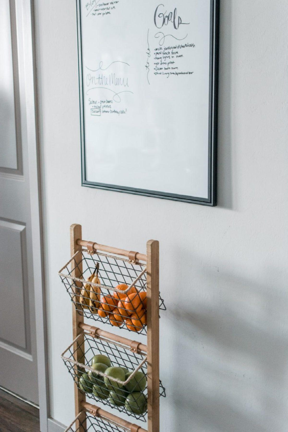Fruit Basket - Dining Room & Kitchen Reveal - Sweet Teal