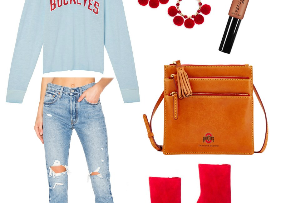 Game Day Glam Outfit Idea - Sweet Teal