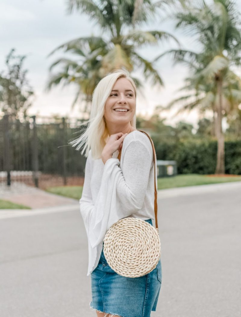 DIY Crossbody Basket Bag by Jenny of Sweet Teal