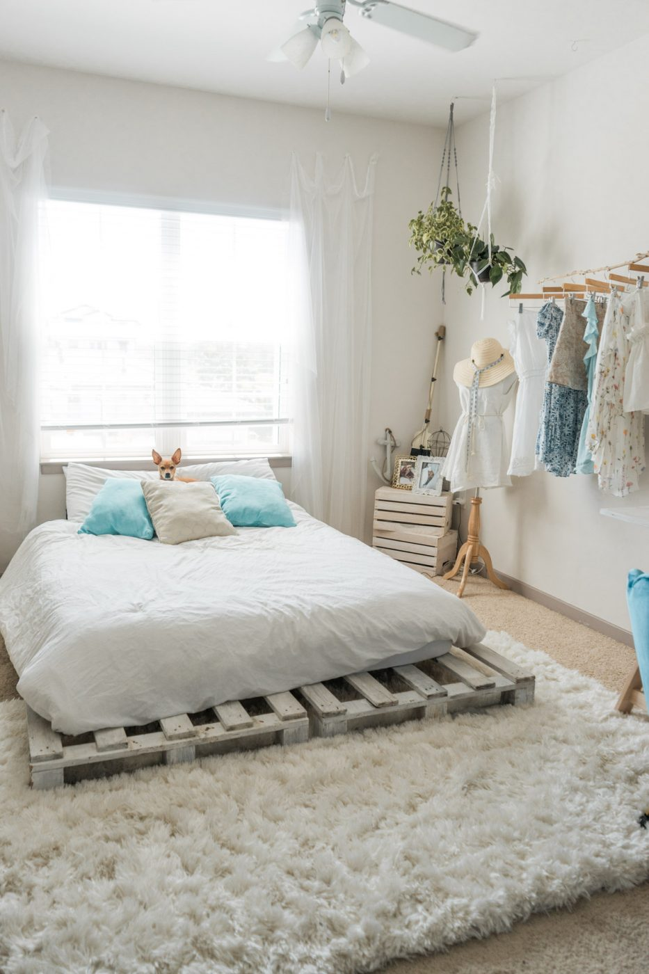 Beachy Boho Bedroom & Office on Boho Bedroom  id=90689