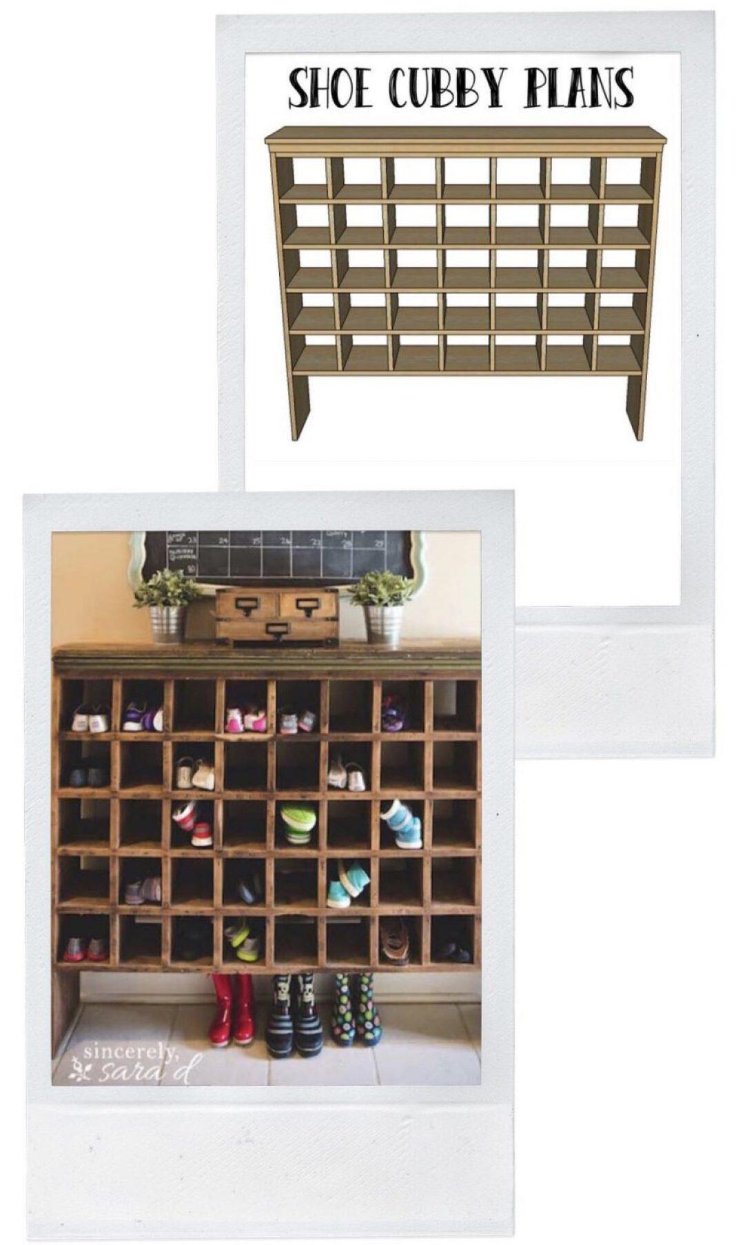 Shoe Storage - Mail Sorter Shoe Cubby