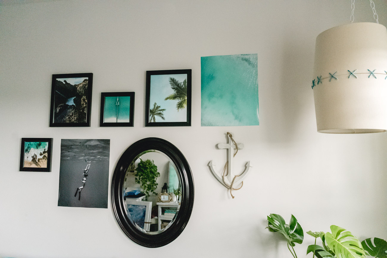 Gallery Wall by Jenny of Sweet Teal