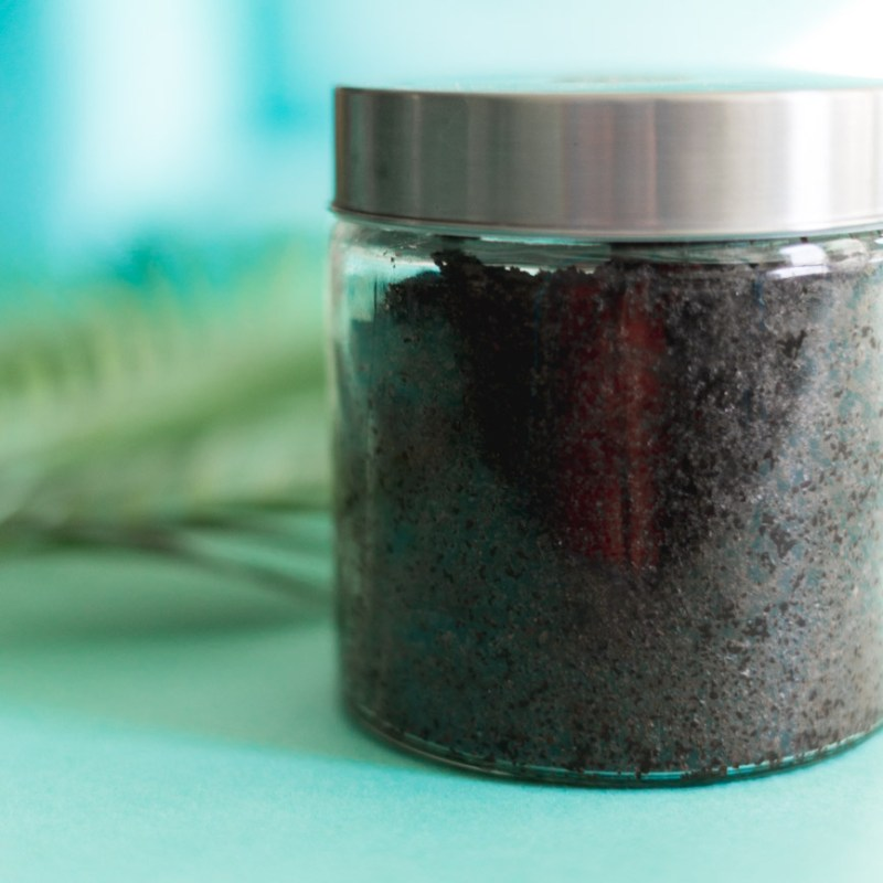 How To Make a Coconut Coffee Scrub