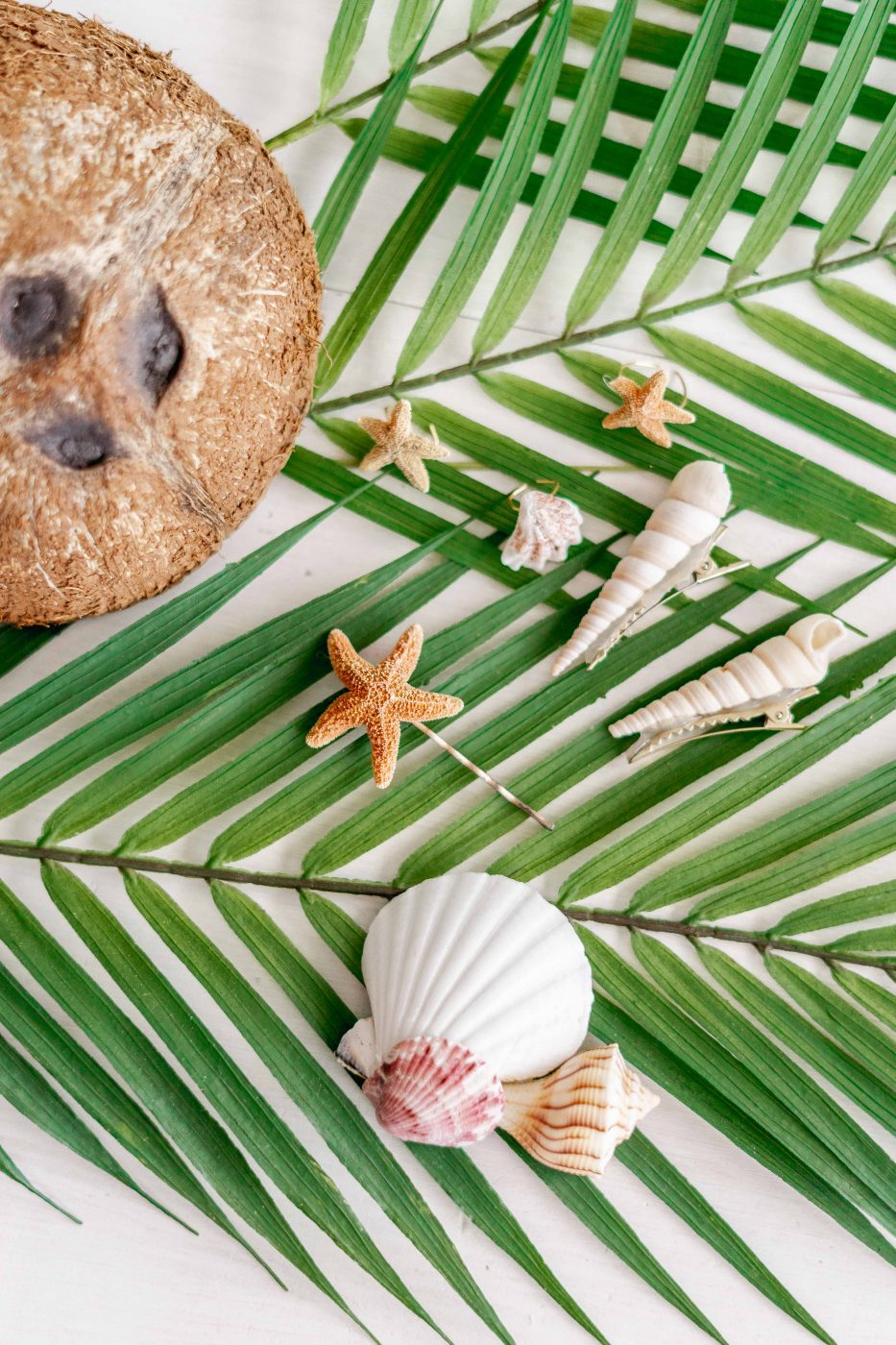 DIY Seashell Hair Accessories - Jenny Bess