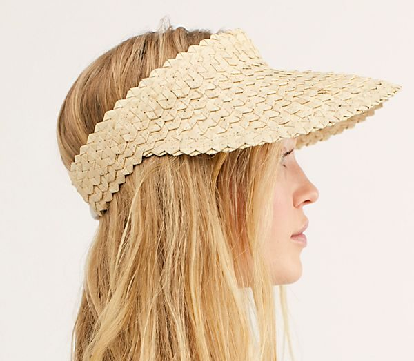 Free People Baha Straw Visor - Summer Hat Guide 2019