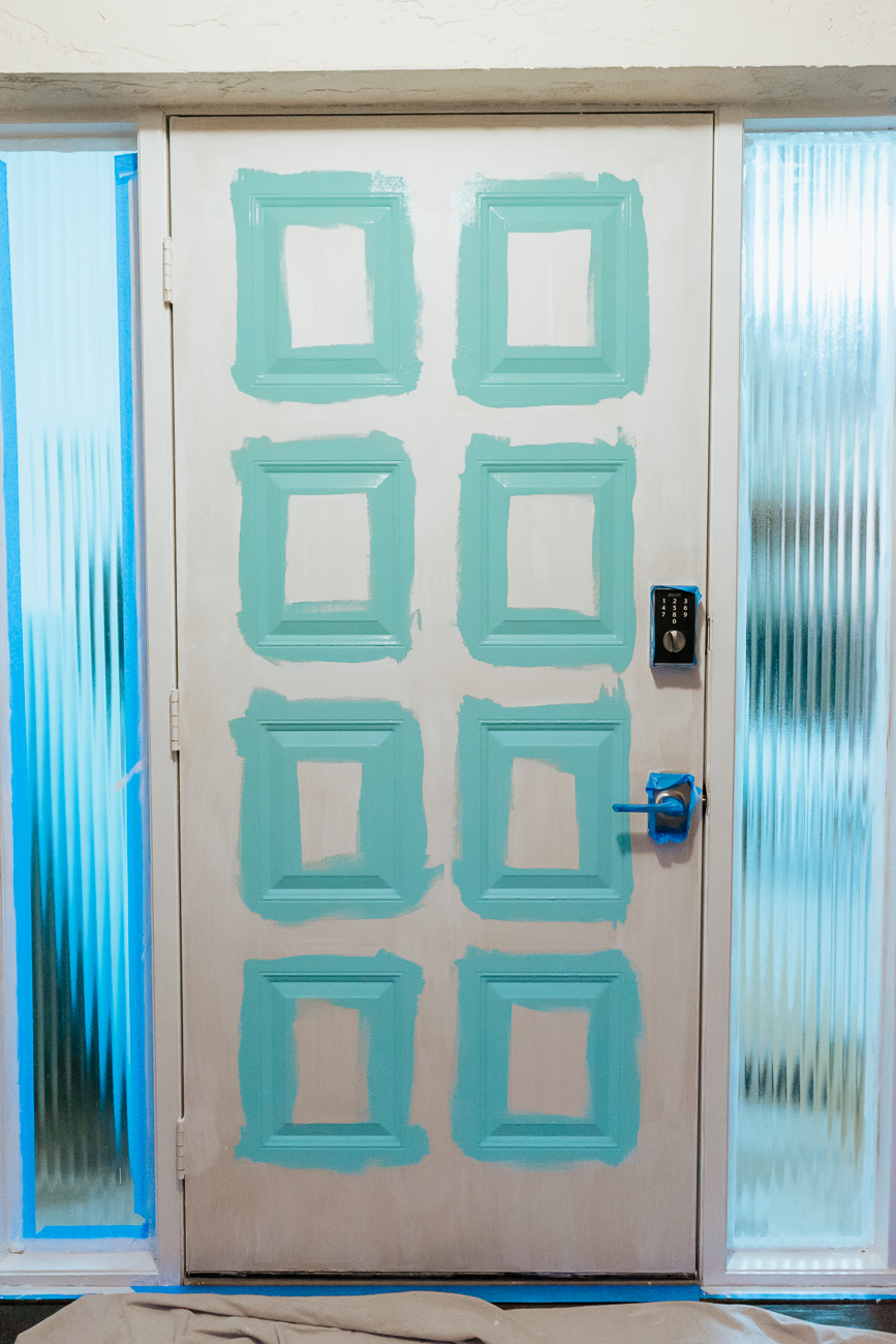 How To Paint A Front Door - Step by Step