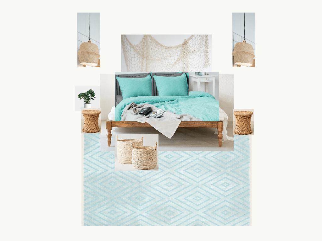 Home Renovation - Beachy Bohemian Bedroom Decor
