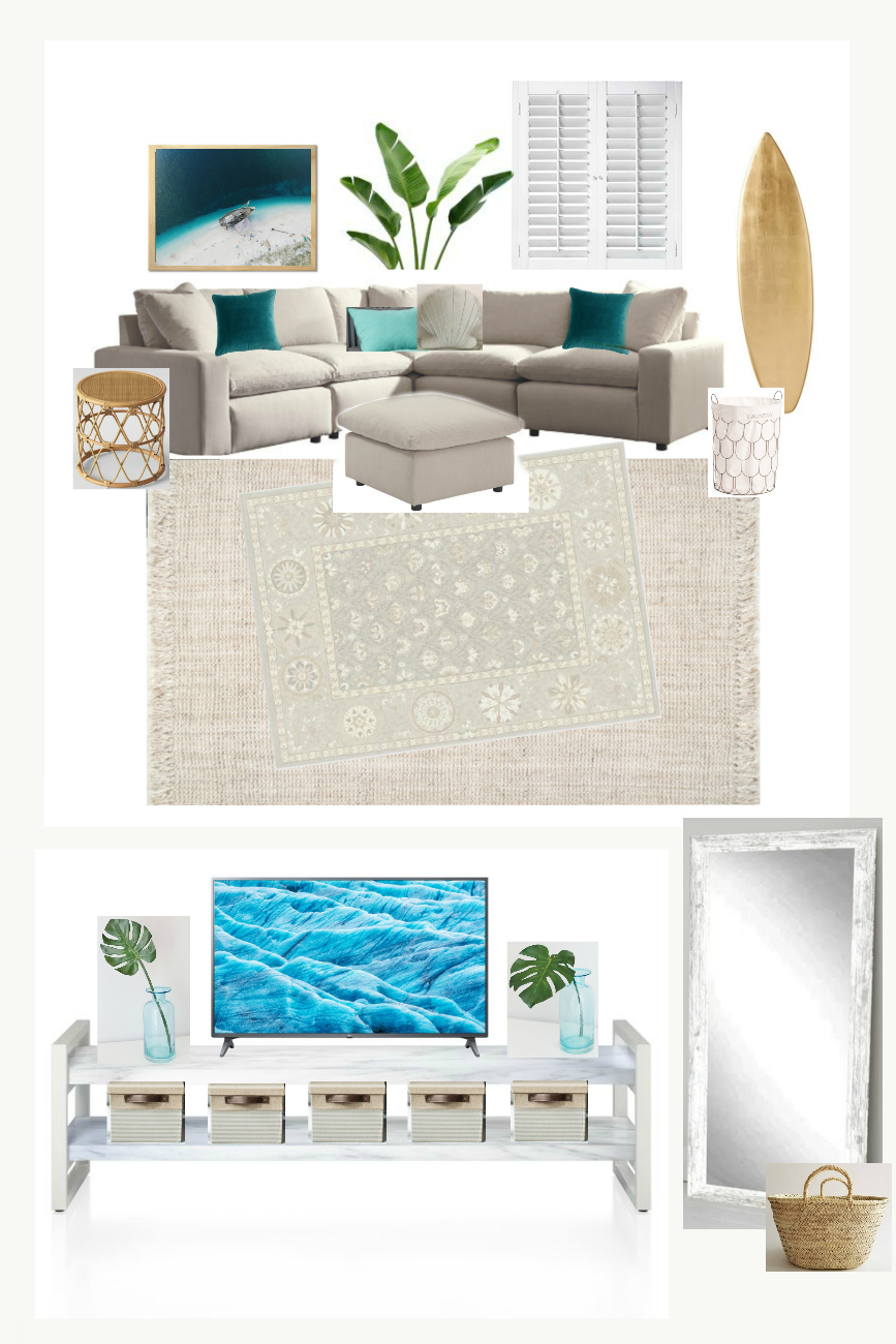 Home Renovation - Beachy Bohemian Home Decor