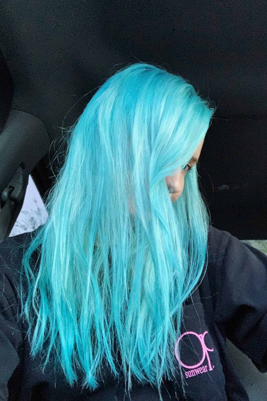 How To Fade Blue Hair Dye or Lighten Hair At Home