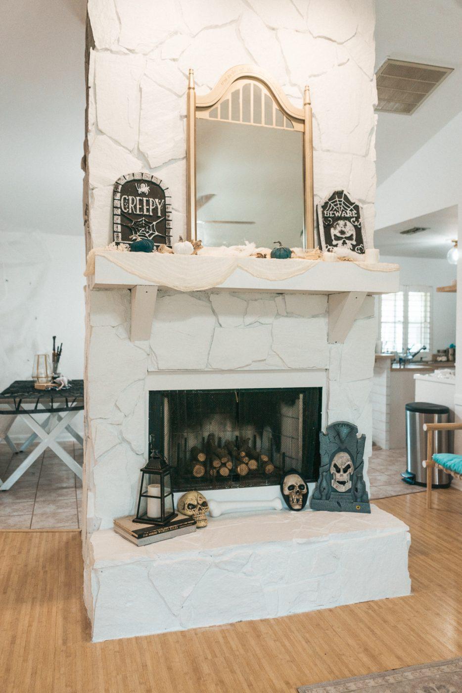 Harry Potter Fireplace Decorations