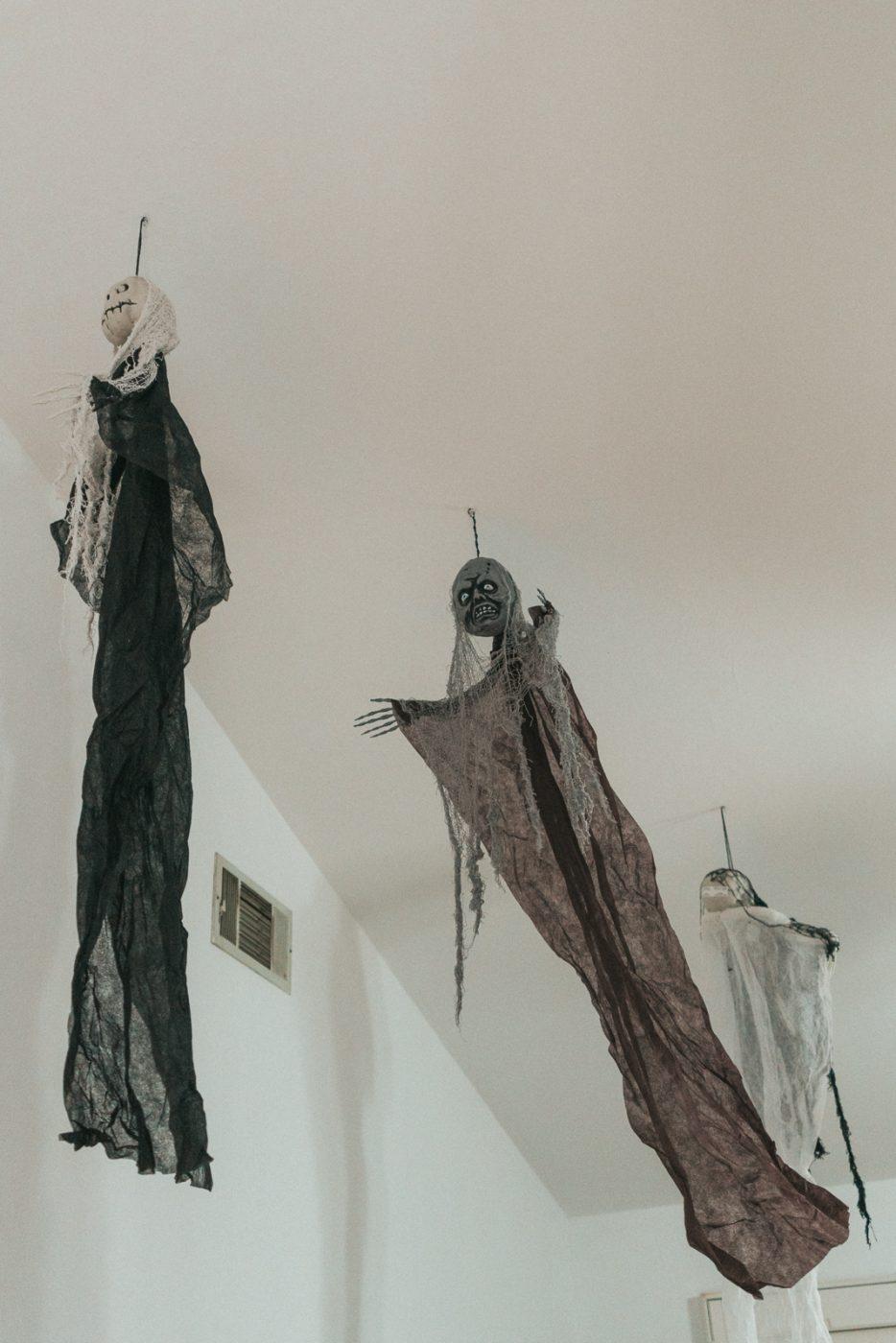 Dementors for Harry Potter party