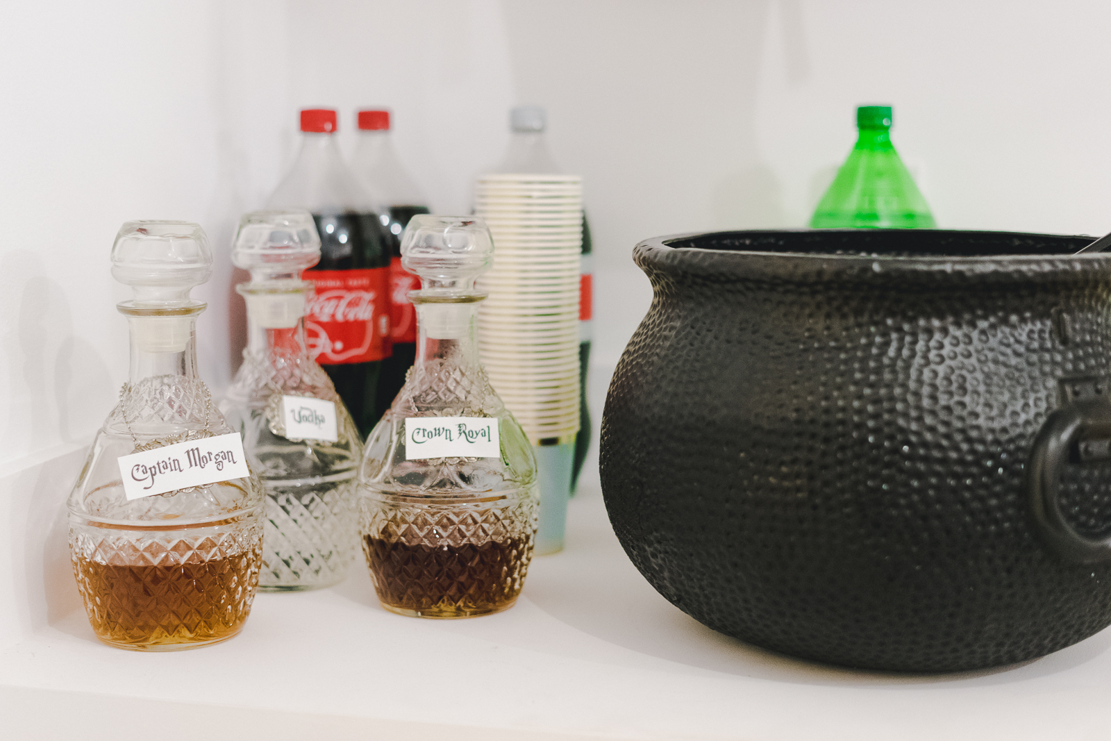 Alcohol potions for Harry Potter Party